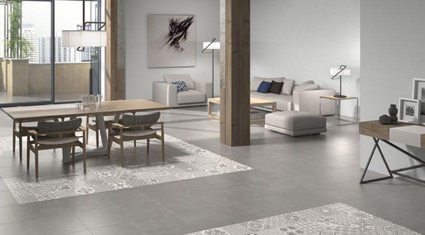Gres porcel nico azulejos y pavimentos de moda para el 2018 - Suelos porcelanicos imitacion marmol ...