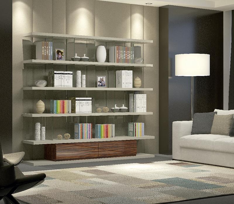 La librer a un mueble ideal para crear un rinc n de - Mueble libreria a medida ...