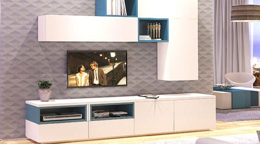 ¿Por qué elegir una composición de muebles modulares para tu salón? Este es un espacio del hogar en el que pasamos gran parte de nuestro tiempo. En el cual nos relajamos, disfrutamos de un buen libro o de una película...  En definitiva, el salón es un espacio en el que buscamos confort. Por eso, elegir los muebles adecuados, es importate para crear el ambiente perfecto. Los muebles modulares nos ofrecen un sinfín de posibilidades. Están planificados para mantener todas tus cosas en perfecto orden. Son sumamente funcionales ya que nos ofrecen una gran cantidad de espacios de almacenaje. Y al mismo tiempo, podemos crear composiciones con mucho estilo gracias a sus diseños modernos y a sus acabados de gran calidad.