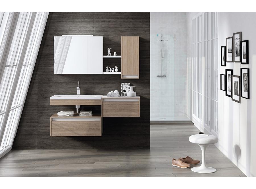 Los muebles de baño suspendidos son ideales para los hogares de estilo contemporáneo.  Cuando reformamos el cuarto de baño, además de los sanitarios, el mobiliario es otra cuestión fundamental. El mobiliario de baño bien elegido nos ayudará a crear un espacio perfecto para la higiene diaria y el relax. Los muebles suspendidos compactos son ideales. Aportan un estilo muy actual, son funcionales, facilitan la limpieza, y ayudan a aprovechar al máximo el espacio.