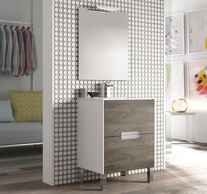 Un espacio en el que los artículos de aseo personal estén guardados. Todo en orden y colocado. Y además bonitos, funcionales y con mucho estilo. Así son nuestros muebles para el baño.  El cuarto de baño ha dejado de ser un lugar secundario en los hogares. A los espacios para el aseo y la higiene personal cada vez tienen más protagonismo. Sanitarios de diseño, textiles con encanto y por supuesto muebles para el baño de todo tipo, tamaño y estilo. Por eso, en nuestro post de hoy, te traemos la mejor inspiración para tu cuarto de baño dde la mano de nuestas colecciones de mobilario para el baño.