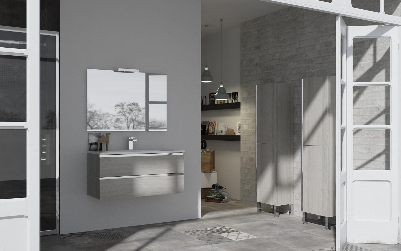 Al elegir tu nuevo mueble para el baño tendras en cuenta diferentes aspectos: estilo, tamaño, colores, acabados... También tendrás que tener en cuenta si lo quieres con patas o suspendido.  El aspecto estético varía bastante si el mueble para el baño es suspendido. Este tipo de muebles aportan siempre un estilo más minimalista. También liberan espacio. Y otra ventaja que tienen es que al no tener patas facilita la limpieza. En general son ideales para baños pequeños.  Por otro lado un mueble para el baño con patas aporta mayot presencia visual. Y generalmente permite una capacidad más alta de almacenamiento. Además, al tener las patas el punto de apoyo se reparte entre estas y el anclaje a la pared.