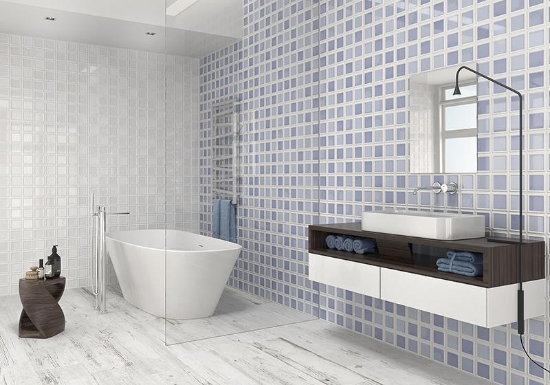 Azulejos para el baño.  Infinitas opciones se muestran ante nosotros a la hora de elegir los nuevos azulejos para el baño. Por eso, hoy os traemos la inspiración de la mano de nuestro Catálogo de Azulejos y Pavimentos en Madrid. Inspiración basada en tres colores: azul, blanco y rojo. Tres colores: Azul, blanco y rojo.  En Esil de Alba somos expertos en Cerámica en Madrid. Llevamos más de 40 años dedicados a la venta de Azulejos y Pavimentos cerámicos en Madrid. Así, ven a visitarnos a nuestra exposición permanente. Por eso,  te esperamos en Esil de Alba.