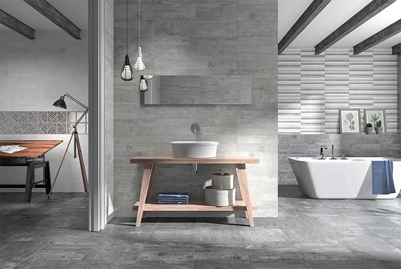Azulejos cerámicos: acabados, colores, calidad, durabilidad... Y sobre todo, estilazo y personalidad para tu casa.  Colocar azulejos cerámicos en la cocina y en el baño es todo un clásico para revestir tus paredes. Pero colocarlos en otros espacios, como para revestir la pared de tu salón, es tendencia. Sí, si, tal cual lo estás leyendo. Un revestimiento cerámico de calidad y con estilo aporta personalidad y convierte cualquier habitación en un espacio único. Empezamos con azulejos de cerámica inspirando tu cocina, seguimos con inspiración para tu baño y terminamos con una idea original para tu salón.  En Esil de Alba tenemos los mejores materiales en revestimientos, azulejos cerámicos y pavimentos. Además también encontrarás todo lo que necesitas para renovar tu cocina y tu baño. Ya que contamos con una amplia exposición de muebles de cocina en Madrid. También tenemos todo lo que necesitas para la reforma de tu cuarto de baño. Muebles para el baño en Madrid. Como son los sanitarios, mamparas y cabinas de ducha.
